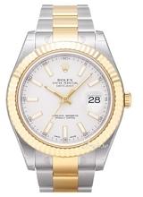Rolex Datejust II Biały/18 karatowe żółte złoto Ø41 mm