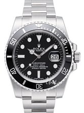 Rolex Submariner Czarny/Stal Ø40 mm