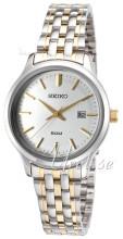 Seiko Dress Ladies Srebrny/Stal w odcieniu złota