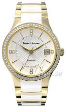 Serene Marceau Diamond Louvre Biały/Stal w odcieniu złota