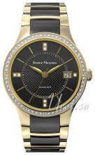 Serene Marceau Diamond Louvre Czarny/Stal w odcieniu złota