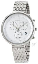 Skagen Chronograph Quartz Biały/Stal