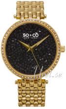 So & Co New York SoHo Zestaw kryształów/Stal w odcieniu złota Ø3