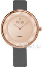So & Co New York SoHo Różowe złoto/Skóra Ø38 mm