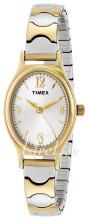 Timex Classic Elevated Srebrny/Stal w odcieniu złota Ø19 mm