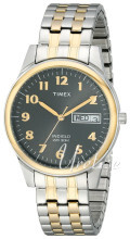 Timex Classic Elevated Szary/Stal w odcieniu złota Ø40 mm