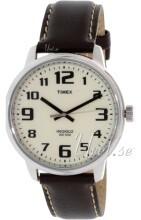 Timex Biały/Skóra Ø45 mm