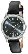Timex Classic Elevated Szary/Skóra Ø36 mm