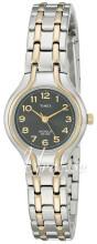 Timex Classic Elevated Czarny/Stal w odcieniu złota Ø25 mm