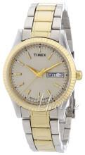 Timex Classic Elevated Srebrny/Stal w odcieniu złota Ø36 mm
