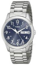 Timex Classic Elevated Niebieski/Stal Ø36 mm