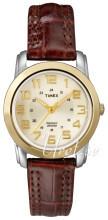 Timex Classic Elevated Szampański/Skóra Ø27 mm