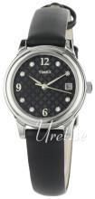 Timex Classic Elevated Czarny/Skóra Ø26 mm