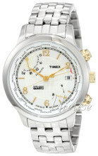 Timex Biały/Stal Ø43 mm