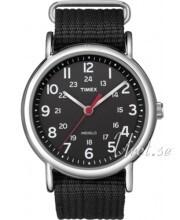 Timex Weekender Czarny/Stal Ø38 mm