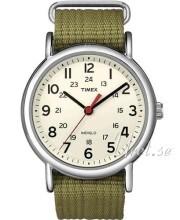 Timex Weekender Beżowy/Stal Ø38 mm