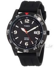 Timex Classic Elevated Czarny/Żywica z tworzywa sztucznego Ø43 m