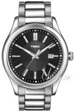 Timex Czarny/Stal