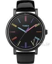 Timex Easy Reader Czarny/Skóra Ø38 mm