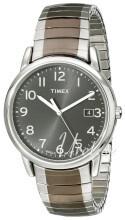 Timex Classic Elevated Szary/Stal Ø35 mm