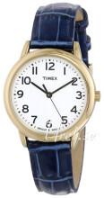 Timex Classic Elevated Biały/Skóra Ø30 mm