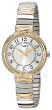 Timex Classic Elevated Srebrny/Stal w odcieniu złota Ø27 mm