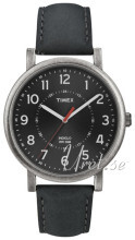 Timex Classic Czarny/Skóra Ø42 mm
