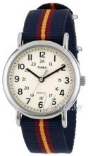 Timex Biały/Tkanina Ø38 mm