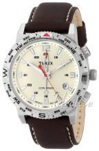 Timex Intelligent Beżowy/Skóra Ø42 mm