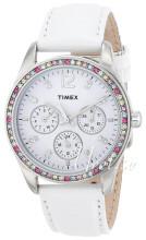 Timex Biały/Skóra Ø35 mm