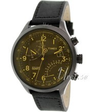 Timex Intelligent Czarny/Skóra Ø43 mm