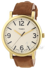 Timex Easy Reader Beżowy/Skóra Ø42 mm