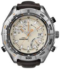 Timex Kremowy/Skóra Ø50 mm