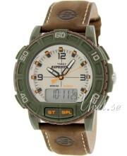 Timex Expedition Beżowy/Skóra Ø45 mm