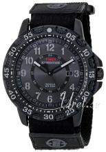 Timex Expedition Czarny/Skóra