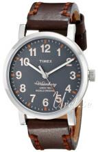 Timex Szary/Skóra Ø40 mm