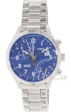 Timex Intelligent Niebieski/Stal Ø43 mm