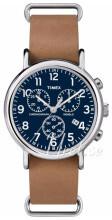 Timex Weekender Niebieski/Skóra Ø40 mm