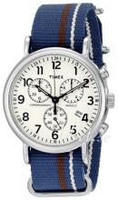 Timex Weekender Biały/Stal Ø40 mm