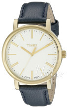 Timex Biały/Skóra Ø38 mm