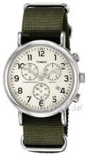 Timex Weekender Beżowy/Stal Ø40 mm