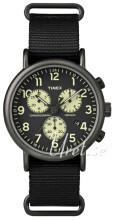 Timex Weekender Czarny/Stal Ø41 mm