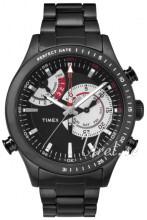 Timex Intelligent Czarny/Stal Ø45 mm