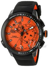 Timex Intelligent Pomarańczowy/Guma Ø47 mm
