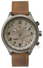 Timex Intelligent Szary/Skóra Ø43 mm