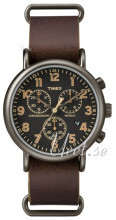 Timex Weekender Czarny/Stal Ø40 mm