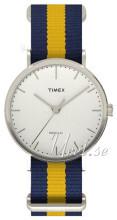 Timex Weekender Biały/Stal Ø41 mm