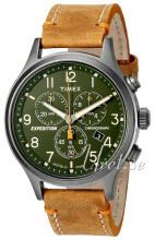 Timex Expedition Zielony/Skóra Ø42 mm