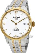 Tissot T-Classic Srebrny/Stal w odcieniu złota Ø39.3 mm