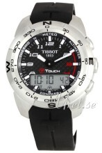 Tissot Touch Collection T Touch Czarny/Guma Ø43.6 mm